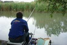 Canne da pesca e linee elettriche